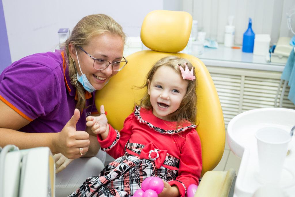 Этапы формирования детских зубов