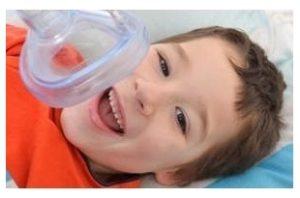 Лечение молочных зубов под наркозом